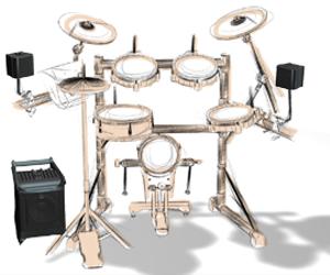 Lucas Nano 300 - bicí